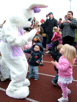 2009 Sumner Easter Egg Hunt.