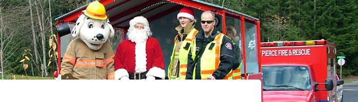 East Pierce Fire and Rescue Santa Run