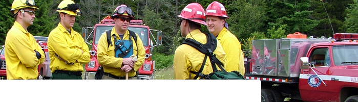 The East Pierce Fire and Rescue Wildland Team trains to fight wildfires.